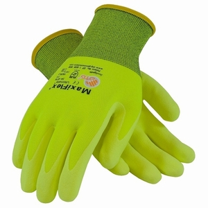G-Tek MaxiFlex Ultimate Nitrile-Coated Glove 34-874
