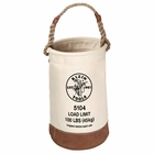 Klein Leather-Bottom Canvas Bucket 5104