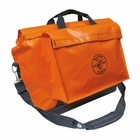 Klein Orange Tool Bag with Extra Pocket
