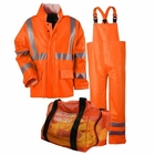 NSA ARC H20 CLASS 3 RAINWEAR KIT-ORANGE