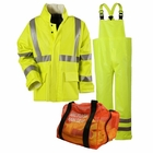 NSA ARC H20 CLASS 3 RAINWEAR KIT-YELLOW