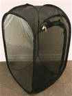"Butterfly Popup Cage with Vinyl Window Black 13.5"" by 13.5"" by 24"""