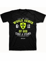 Armor of God Neon Christian T-Shirt