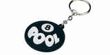 8 Ball Pool Rubber Key Chain