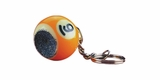 9 Ball Key Chain with Scuffer