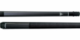 Scorpion Graphite Solid Black Pool Cue