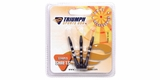 Triumph Striped Aluminum Dart Shaft Set (3)