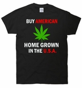 American Home Grown Weed In The USA T-Shirt