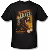 Axe Cop Black Wexter T-Shirt