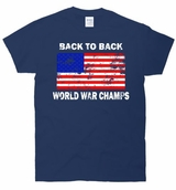 Back To Back World War Champions Vintage T-Shirt