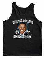 Barack Obama Is My Homeboy Men's Tank Top