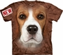Beagle Face Dog The Mountain T-Shirt