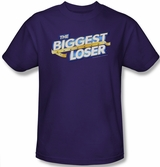 Biggest Loser New Logo Purple T-Shirt