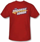 Biggest Loser New Logo Red T-Shirt
