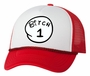 Bitch 1 2 3 4 5 6 Adult Humor Funny Hat Cap