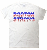 Boston Strong USA United States Flag T-Shirt