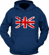 British Vintage Flag Hoodie Sweater