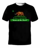 Cali Weed Home of The Kush T-Shirt