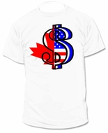 Canada Canadian CA USA United States Money T-Shirt