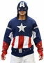 Captain America Costume Hoodie Sweater
