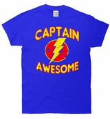 Captain Awesome Vintage T-Shirt