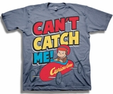 Curious George Can't Catch Me Toddler T-Shirt