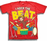 Curious George I Bring the Noise Toddler T-Shirt