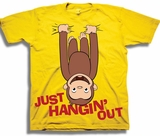 Curious George Just Hangin Out Toddler T-Shirt