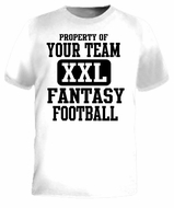 Custom Fantasy Football T-Shirt