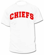 Custom Personalized Chiefs Jersey Tee T-Shirt
