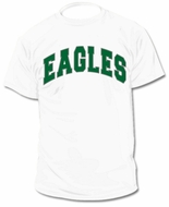 Custom Personalized Eagles Jersey Tee T-Shirt