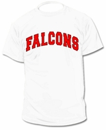 Custom Personalized Falcons Jersey Tee T-Shirt