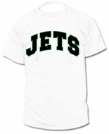 Custom Personalized Jets Jersey Tee T-Shirt