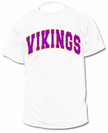 Custom Personalized MIN Vikings Jersey Tee T-Shirt