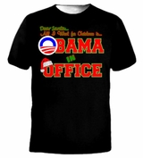 Dear Santa All I Want For Christmas is Barack OBAMA in Office T-Shirt