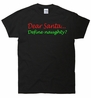 Dear Santa... Define Naughty? T-Shirt
