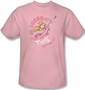 Dexters Laboratory Button T-Shirt