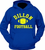 Dillon Football Panthers Hoodie Sweater
