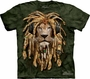 DJ Jahman Lion HeadPhones The Mountain T-Shirt