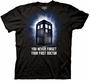 Doctor Who First Doctor Black T-Shirt