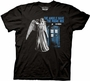 Doctor Who Linear The Angels Have The Phone Box Black T-Shirt