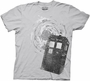 Doctor Who Tardis Grey T-Shirt