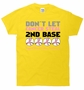 Don't Let Breast Cancer Steal Second 2nd Base T-Shirt