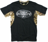 Duck Dynasty Black Camo T-Shirt