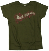 Duck Dynasty Floral Motif Ladies T-Shirt