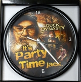 Duck Dynasty Its Party Time Jack Wall Desk Clock
