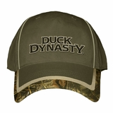 Duck Dynasty Olive Camo Flex Fit Fitted Cap Hat