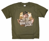 Duck Dynasty Uncle Si Hey, Whatever Jack! Youth T-Shirt