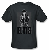 Elvis Presley Leather T-Shirt