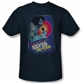 Elvis Presley On Tour Poster T-Shirt